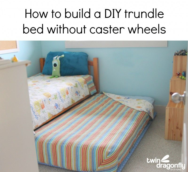 How To Build A Diy Trundle Bed Trundle Beds Diy Trundle Bed