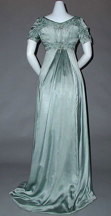 1910 Evening Dress By Liberty Of London Silk Cotton British At The Metropolitan Museum Of Historical Dresses Edwardian Fashion Vintage Gowns