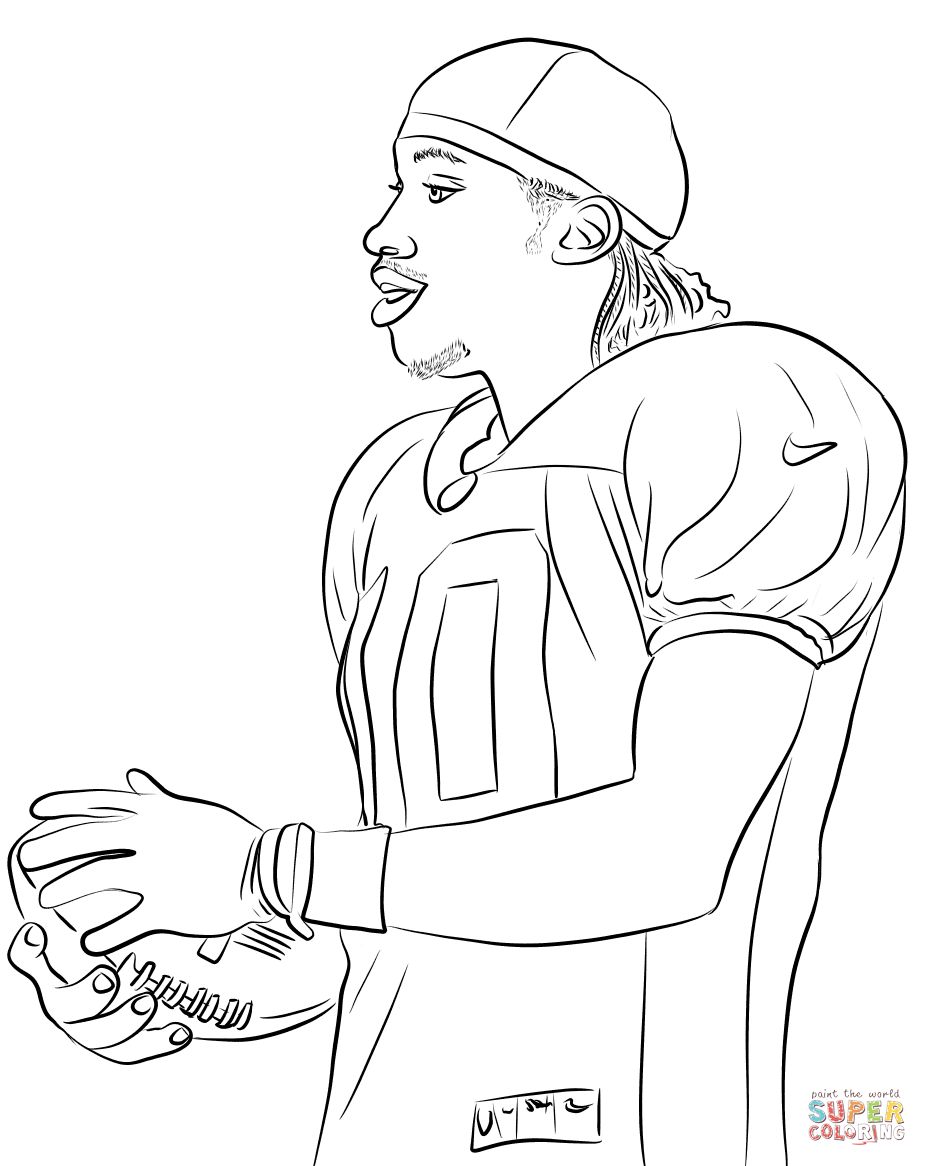 Nfl Coloring Pages Free Throughout Nfl Football Coloring Pages Nfl Football Teams Coloring Pages