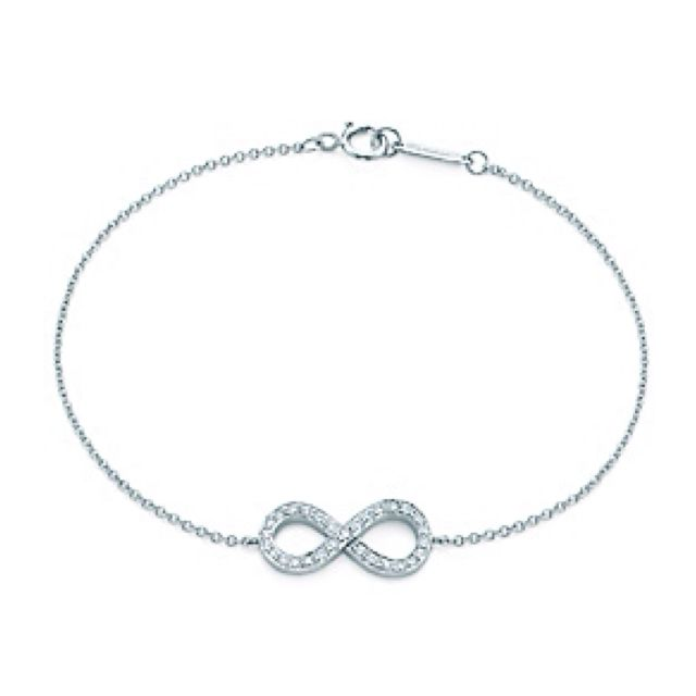 Love This Tiffany Infinity Bracelet