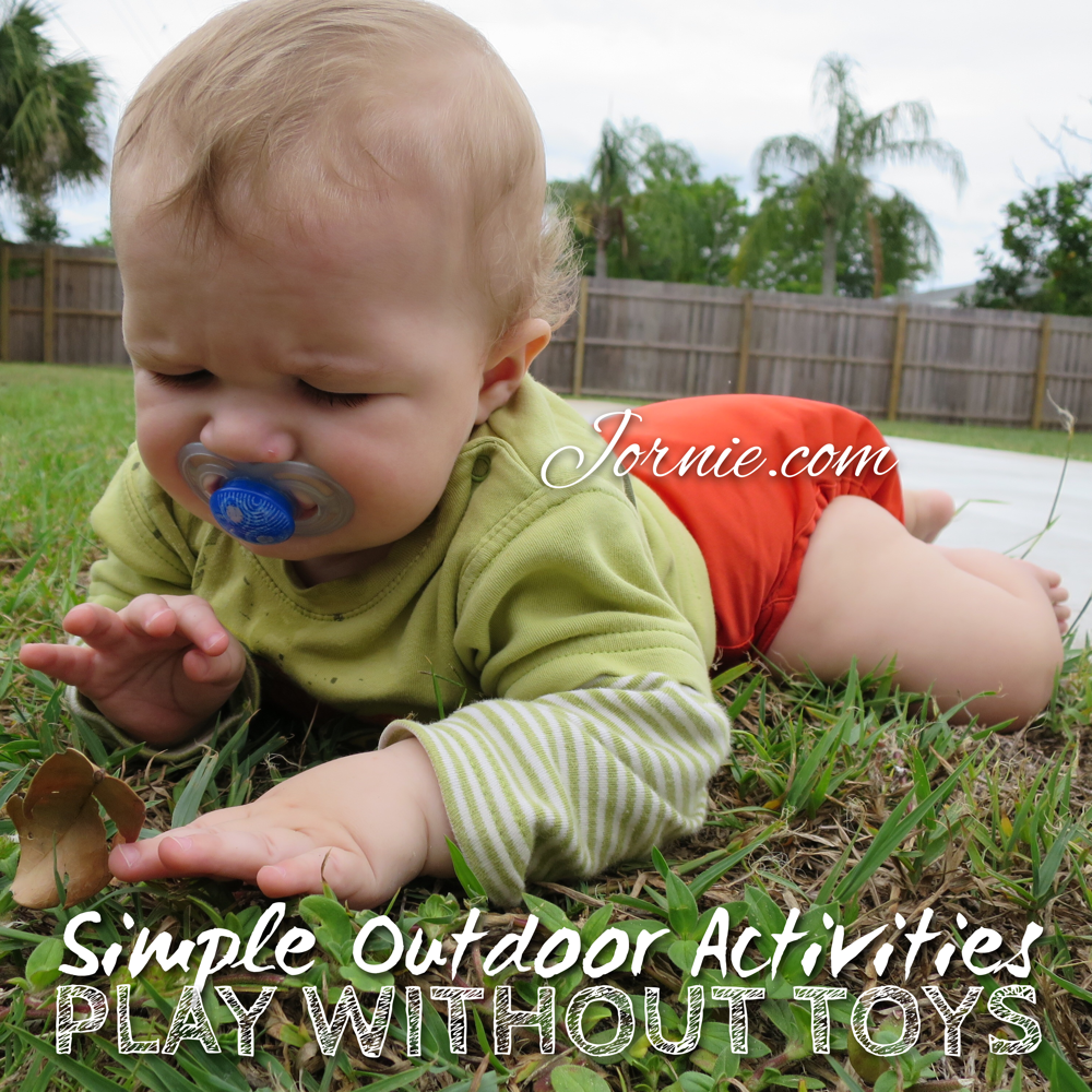Simple Outdoor Activities Play Without Toys Summer