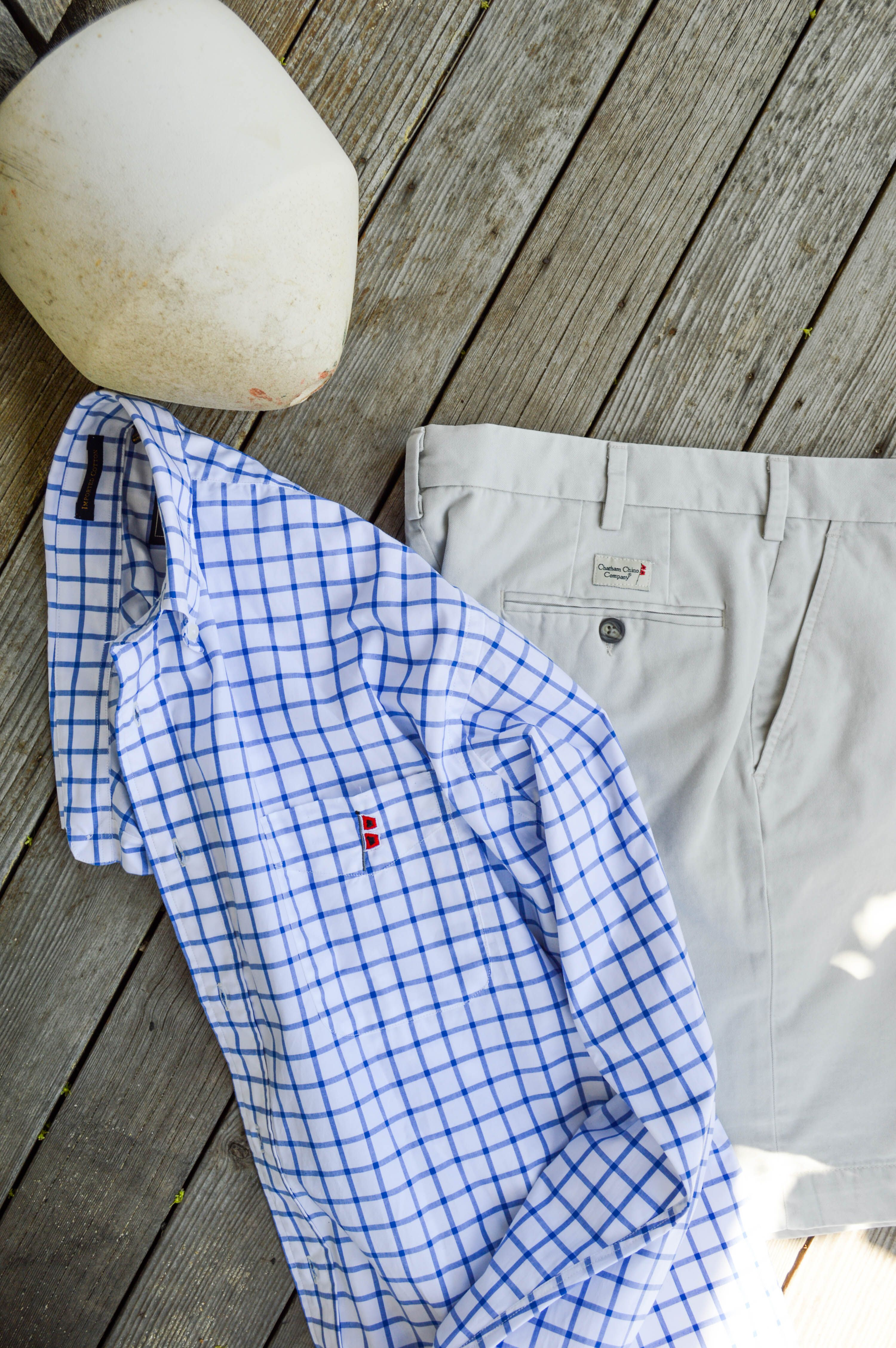 Shirt design new look - Chatham Chino Sport Shirt And Signature Stone Shorts Classic New England Preppy Men S Style