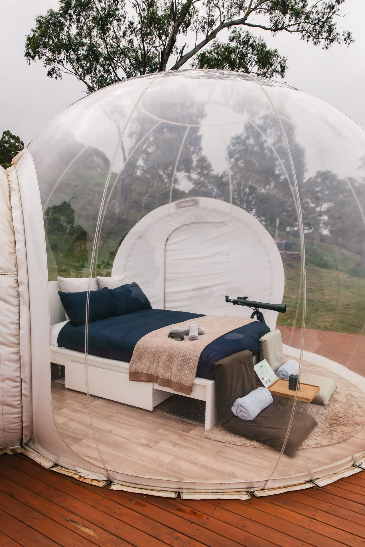 Go stargazing from the warmth of bed in Australia's first