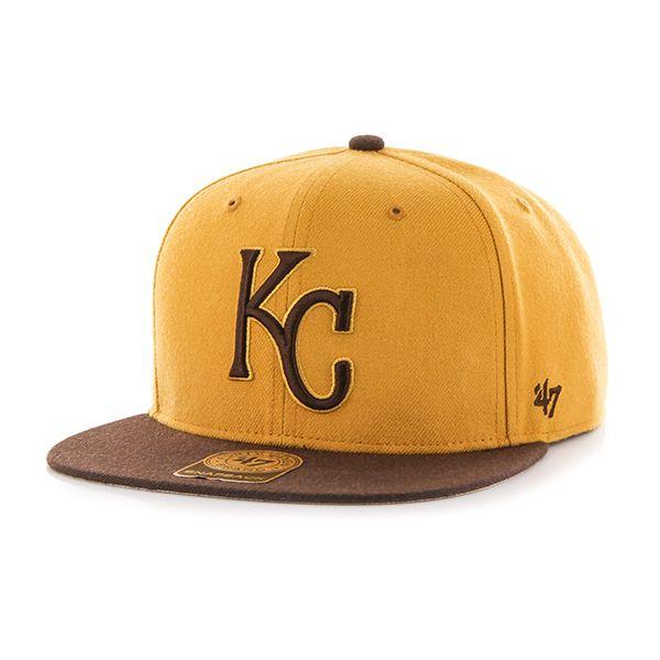 online retailer 6b8df 8dfde Kansas City Royals Ohana Captain Dt White 47 Brand Adjustable Hat - Detroit  Game Gear