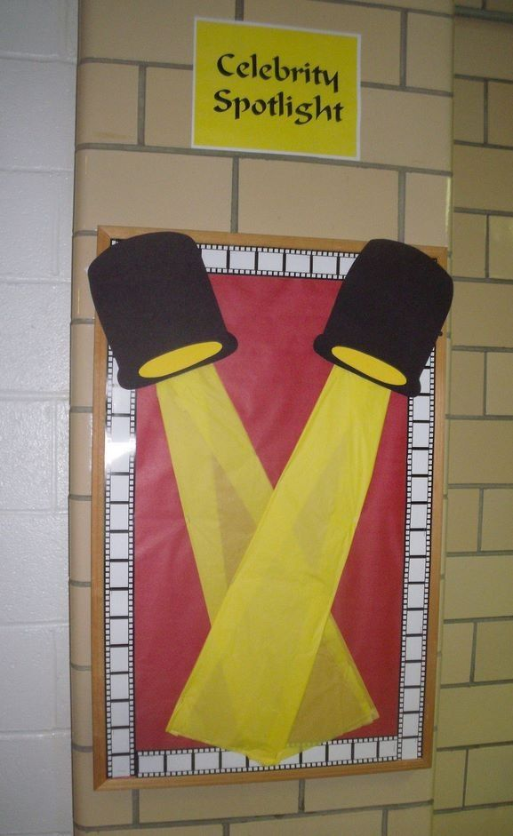 celebrity spotlight wall display   Preschool Classroom   Pinterest ...