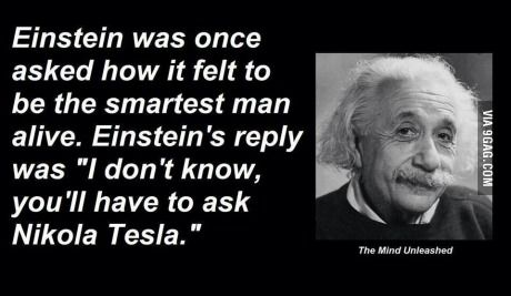 Nikola Tesla one of the smartest persons in history