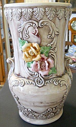 capo di monte large floor vase kind of