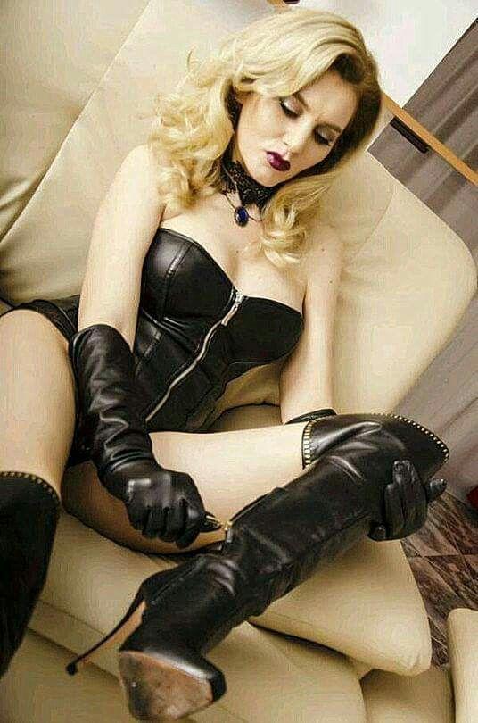 Black stocking high heel femdom dominas photos