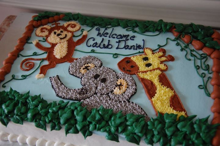 Birthday Cakes Jungle Theme ~ Jungle safari theme sheet cake google search baby bruce