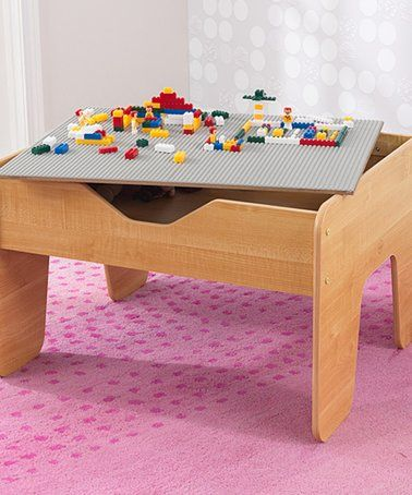 Loving this Natural Activity Play Table & Lego® Block Set on #zulily ...