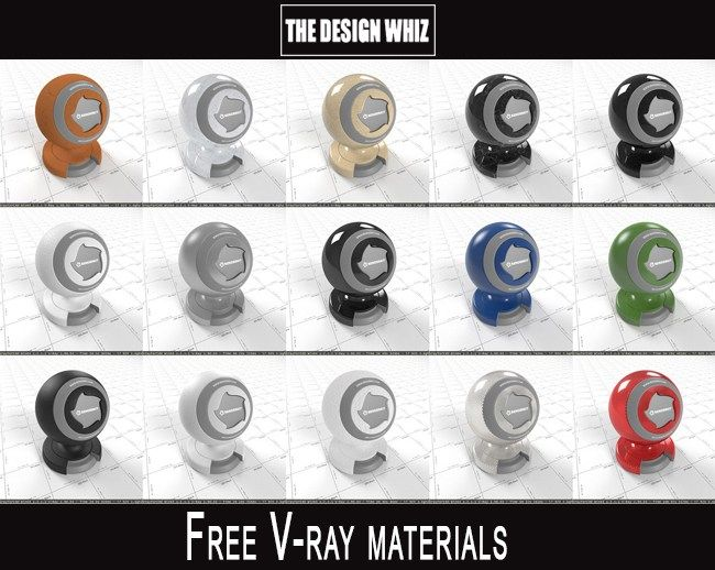 10 websites to download vray materials for 3dsmax, Maya and