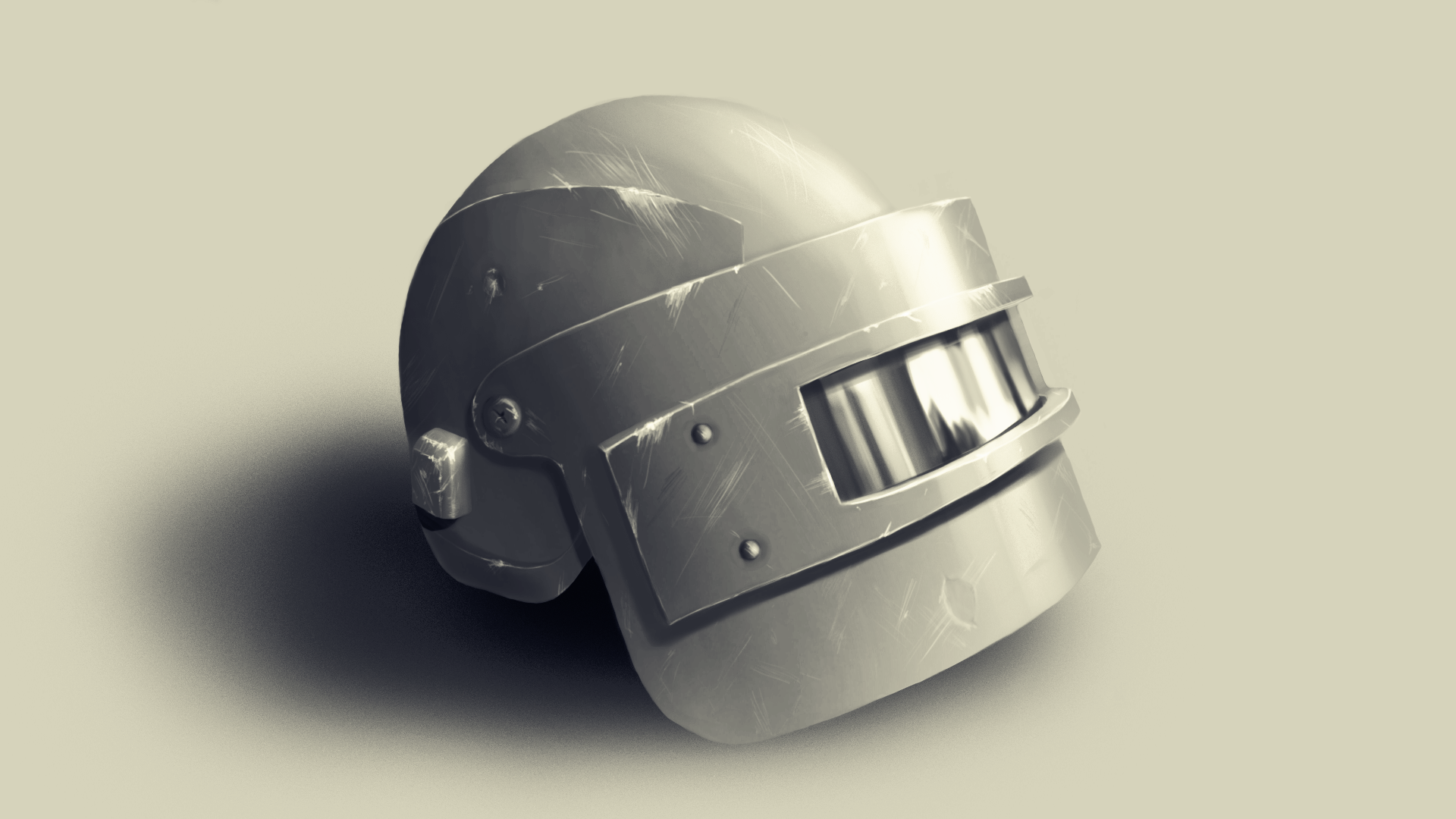 Pubg Lvl 3 Helmet Digital 1920x1080 Art Pinterest Helmet