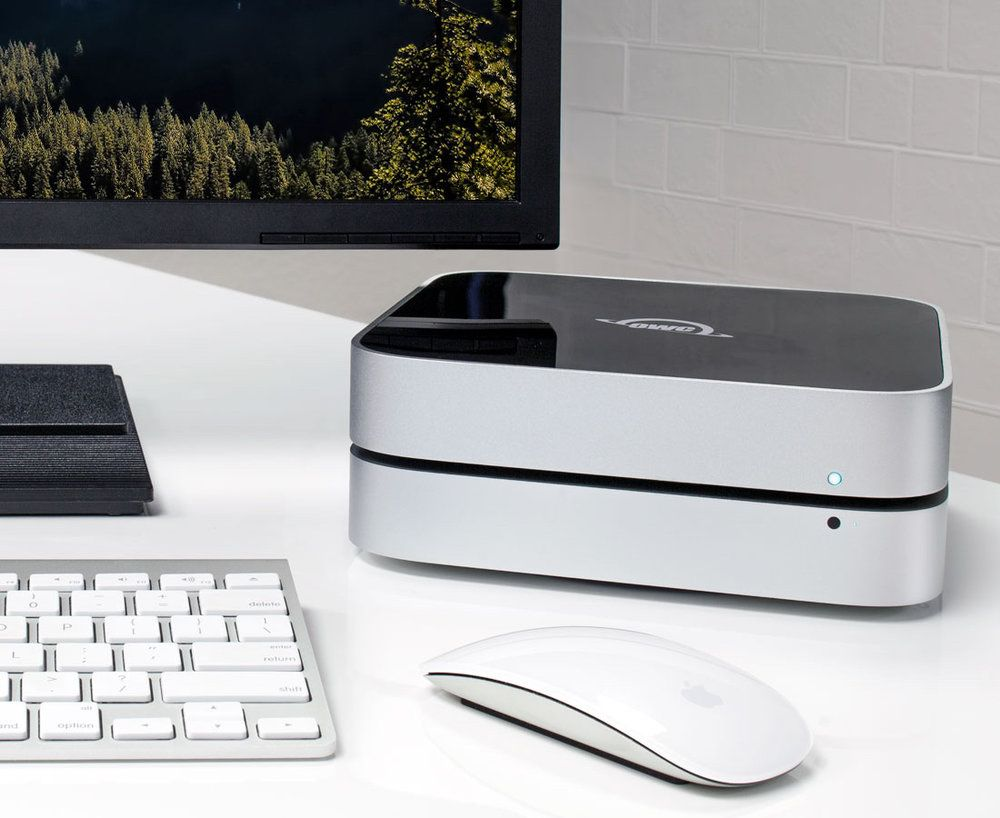 OWC introduces the miniStack which is targeted to Mac mini users