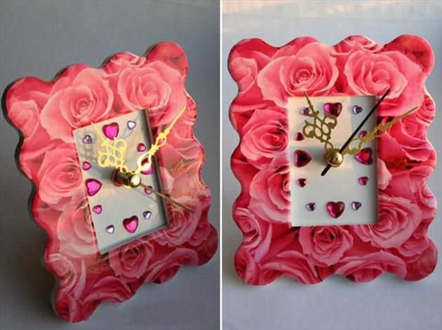 diy valentines day gifts for her photo frame gems roses - Homemade Valentine Gifts For Her