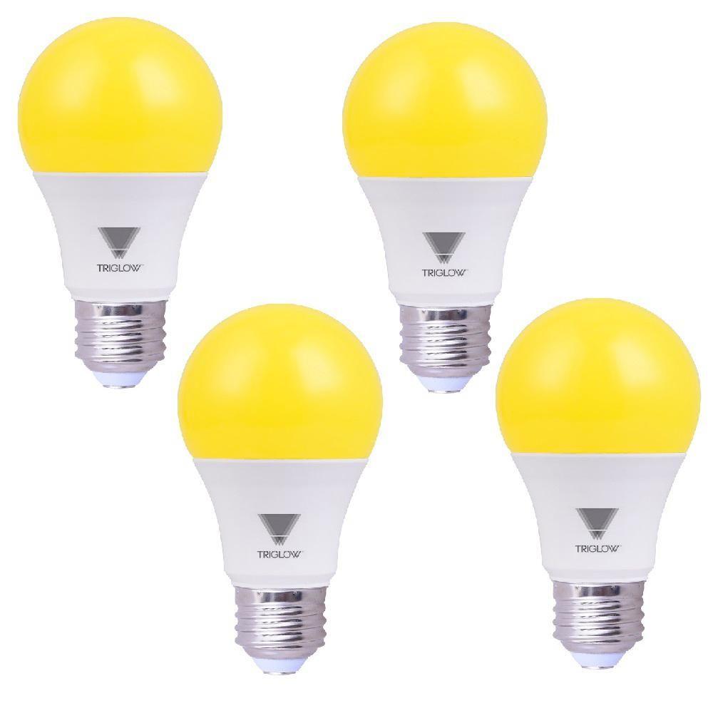 60 Watt Equivalent A19 E26 Standard Medium Base Led Bug Light Bulb