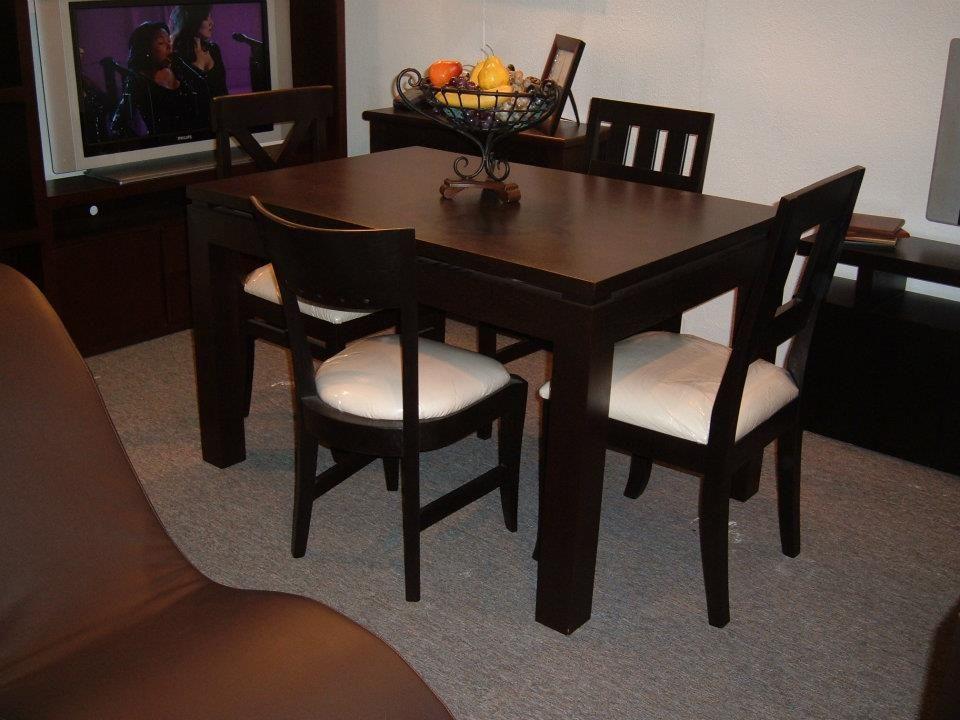 Mesas de comedor para lugares peque os buscar con google Mesas y sillas para comedor pequeno