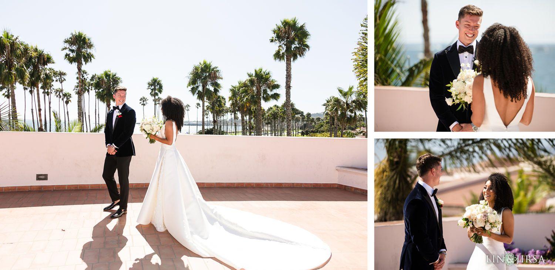 Hilton Santa Barbara Beachfront Resort Wedding Gina And Patrick In 2020 Resort Wedding Engagement Photo Locations Best Wedding Photographers