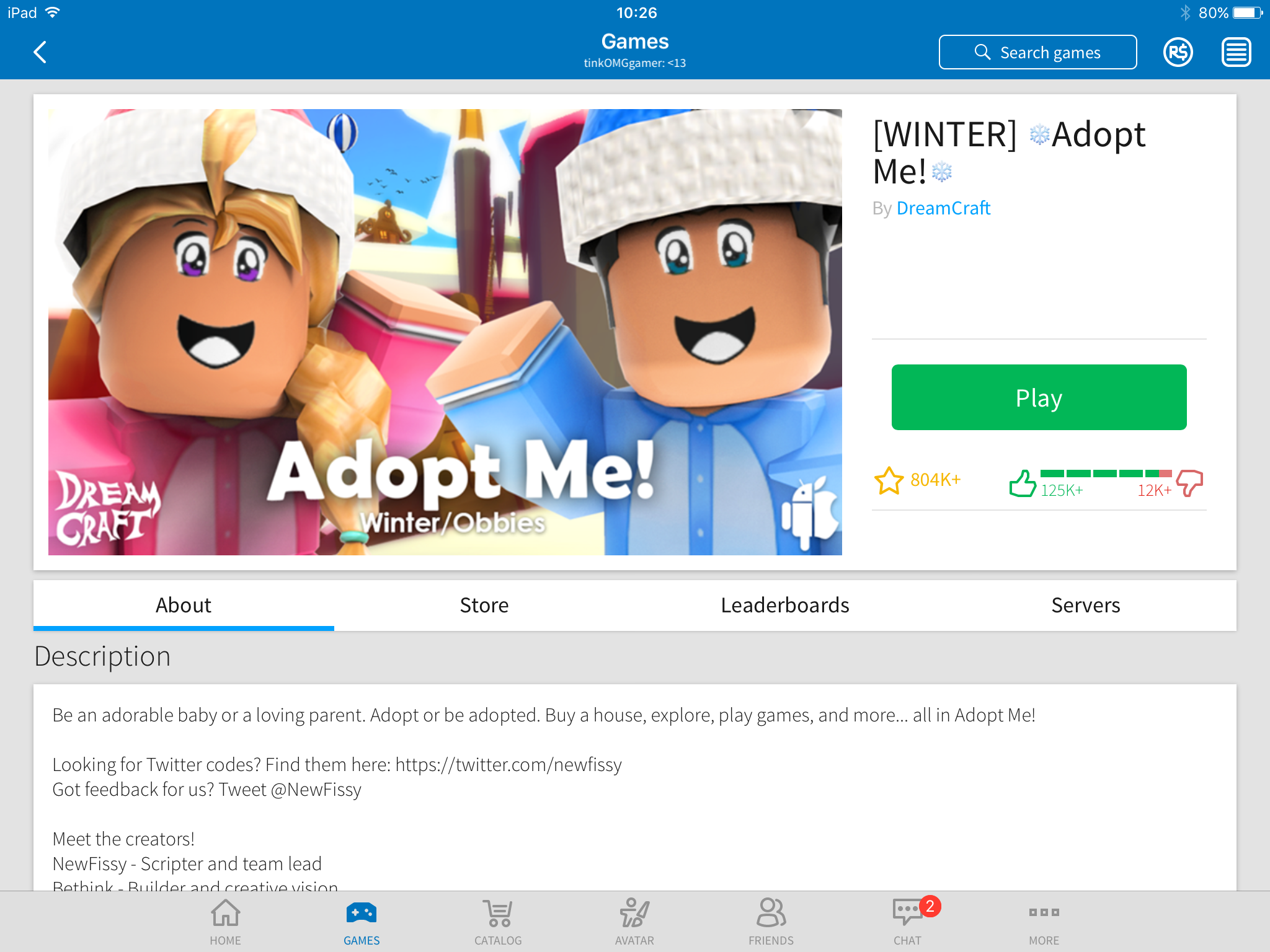 Adopt me one of the most popular games on Roblox | Roblox