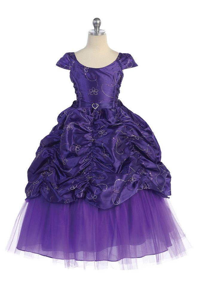 a37591b8fec Purple Gorgeous Cinderella flower...  95.95