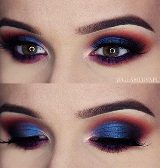3 Striking Color Combinations For Fall: 7 Striking Eyeshadow Color Combinations To Try For Special