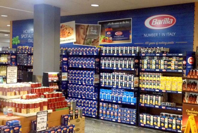 Point Of Sale And In Store Branding For Barilla