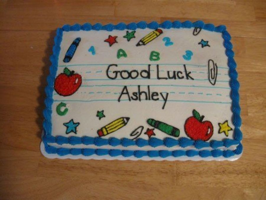 Back To School Cake With Images School Cake Teacher Cakes