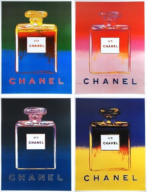 Andy Warhol | Chanel No. 5 (set of 4) (1997) | Available #andywarhol