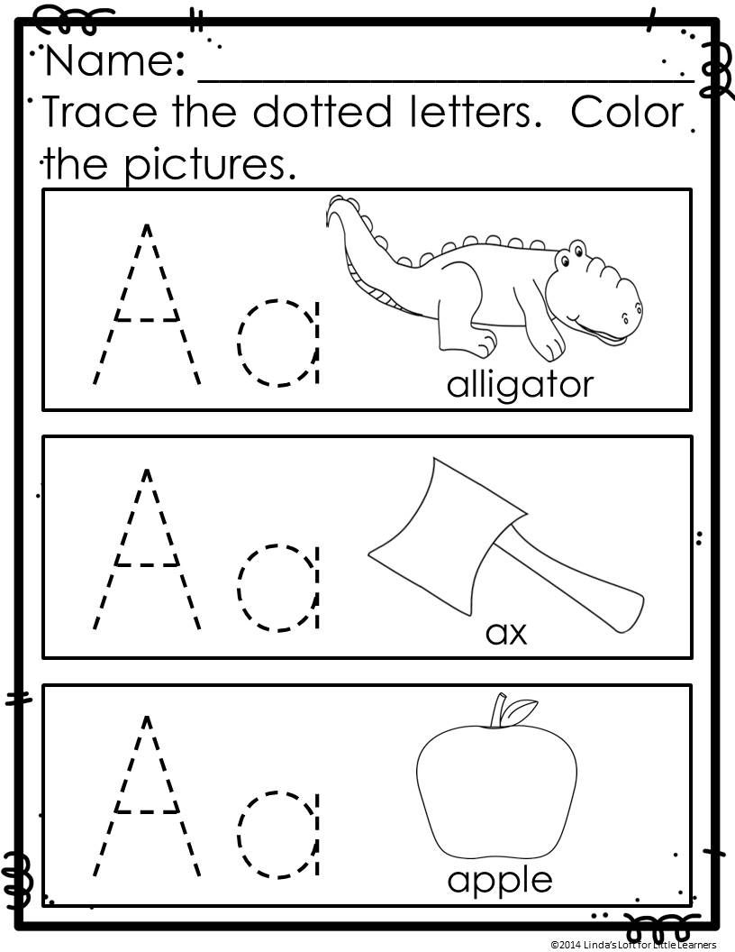 Abc Trace And Color Printables Reinforce Letter Recognition And Sounds While Providing Practice With F Letter Recognition Worksheets Abc Tracing Abc Worksheets [ 1056 x 816 Pixel ]