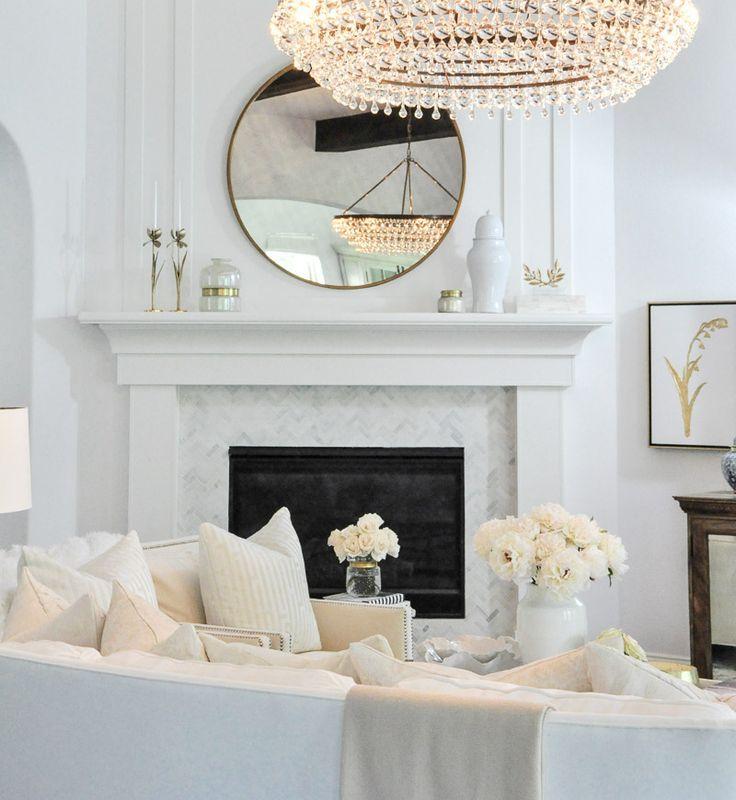 Beautiful White Living Rooms: Living Room White, White