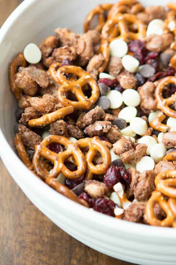 Candied Nuts Snack Mix