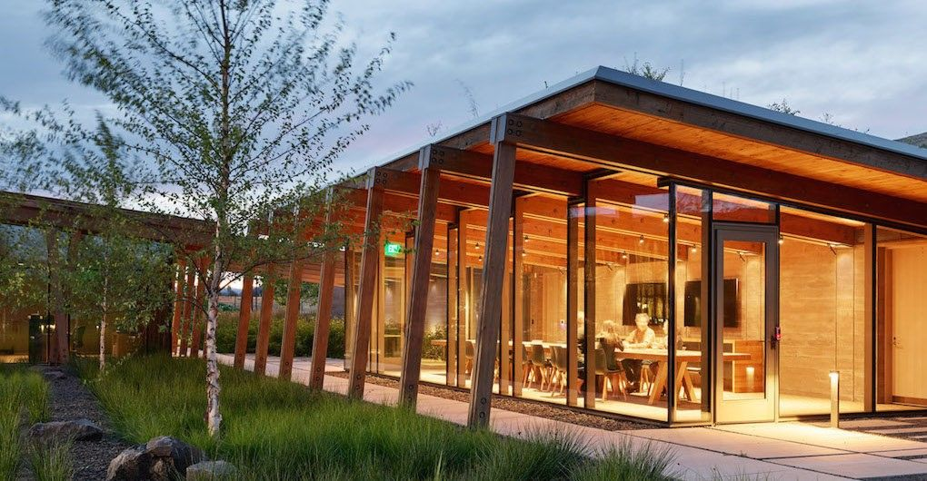 Washington Fruit Produce Co Headquarters By Graham Baba Architects Architecture Architect Building Design