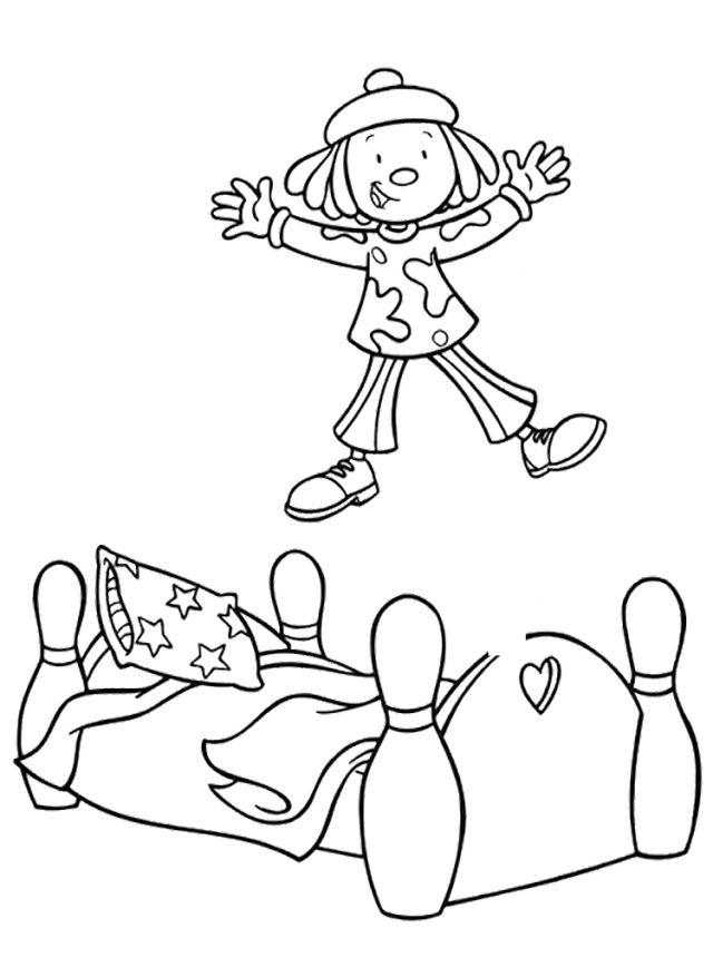 Jojo Circus Jump Coloring Pages