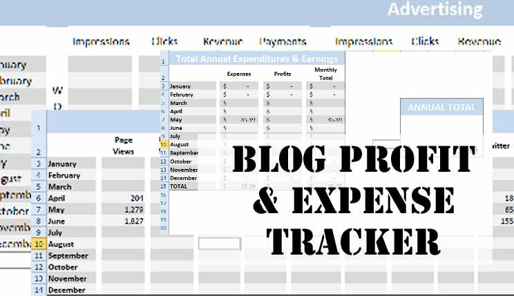 Blog Spreadsheet Now Available at Etsy Etsy, Blog and Blogging