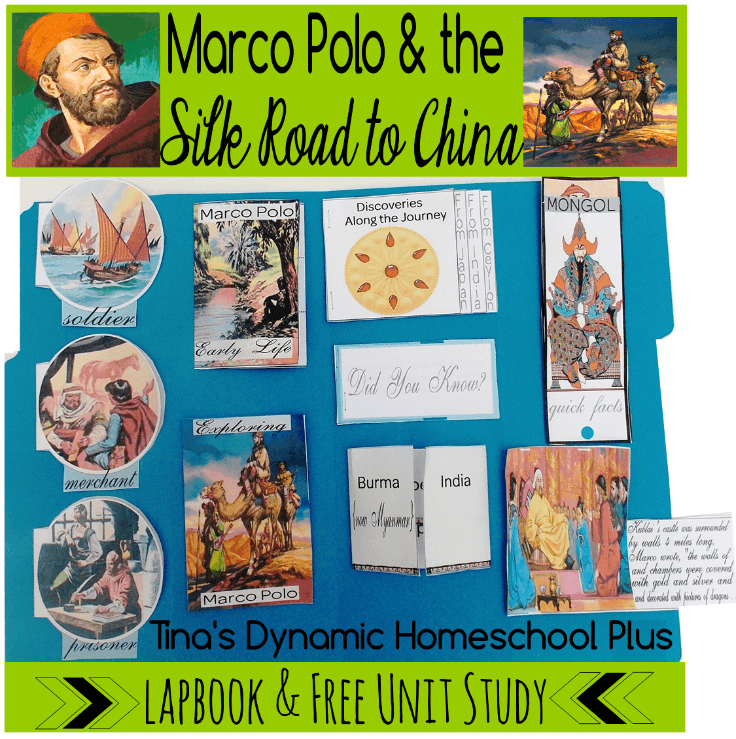 fast delivery on feet shots of newest collection Free Marco Polo Lapbook and Unit Study   Homeschool ...