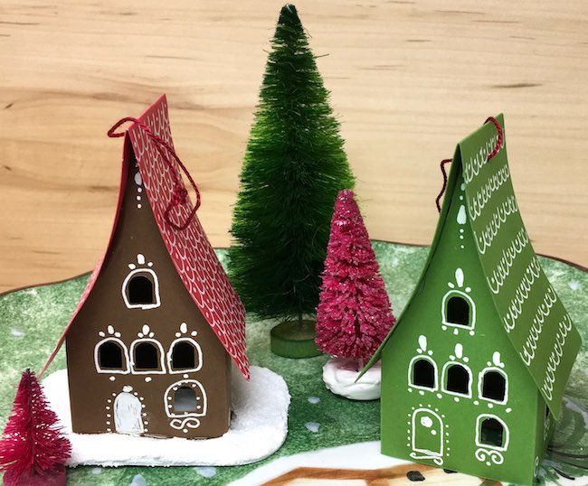 how to make easy gingerbread ornaments