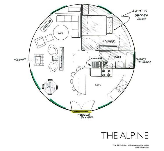 Yurt floor plans. A wide variety of floor plans for yurts