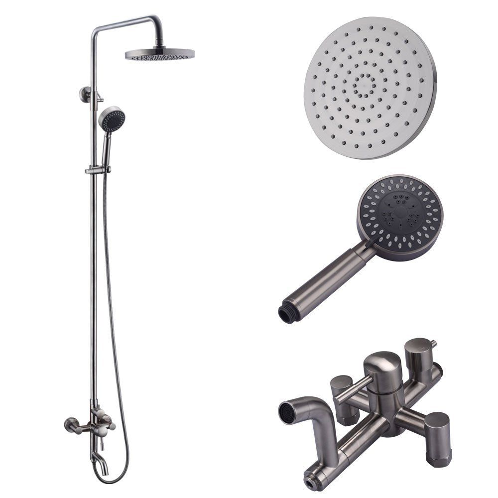 KES European Style Exposed Shower System SUS 304 Stainless Steel ...