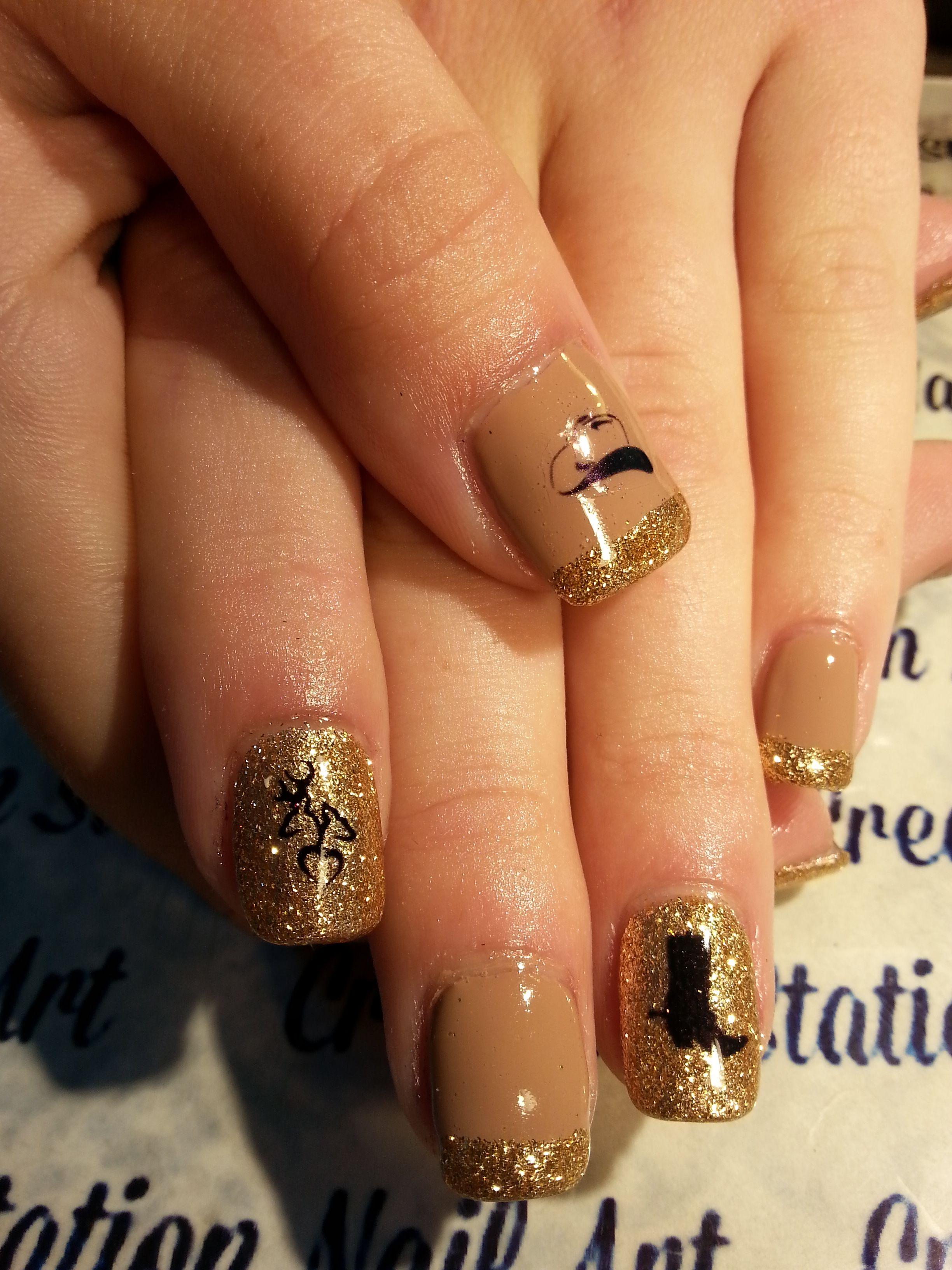 Pin By Rita Loves Nail Art On Country Girl Camo Nail Art