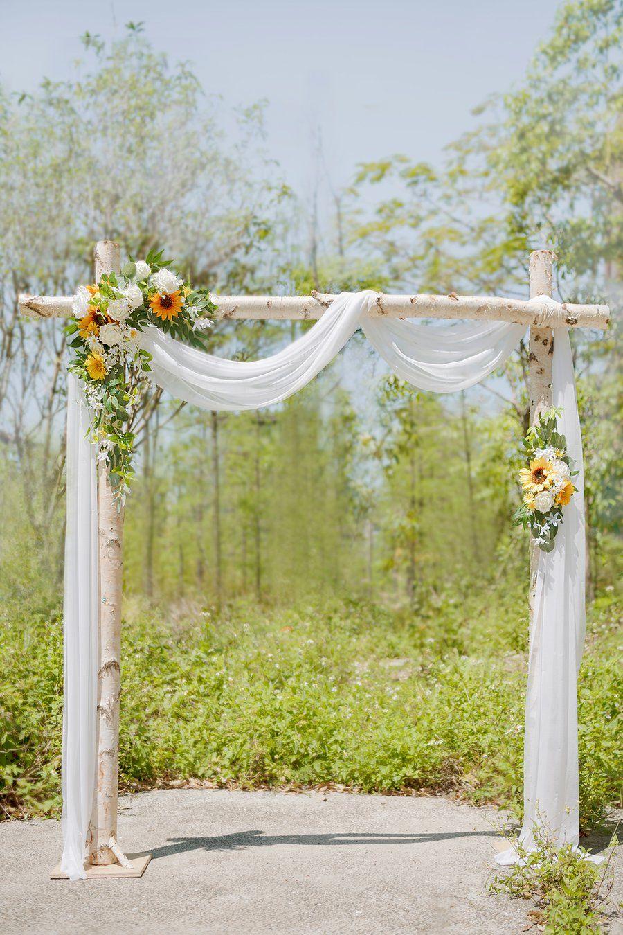 18 diy Wedding alter ideas