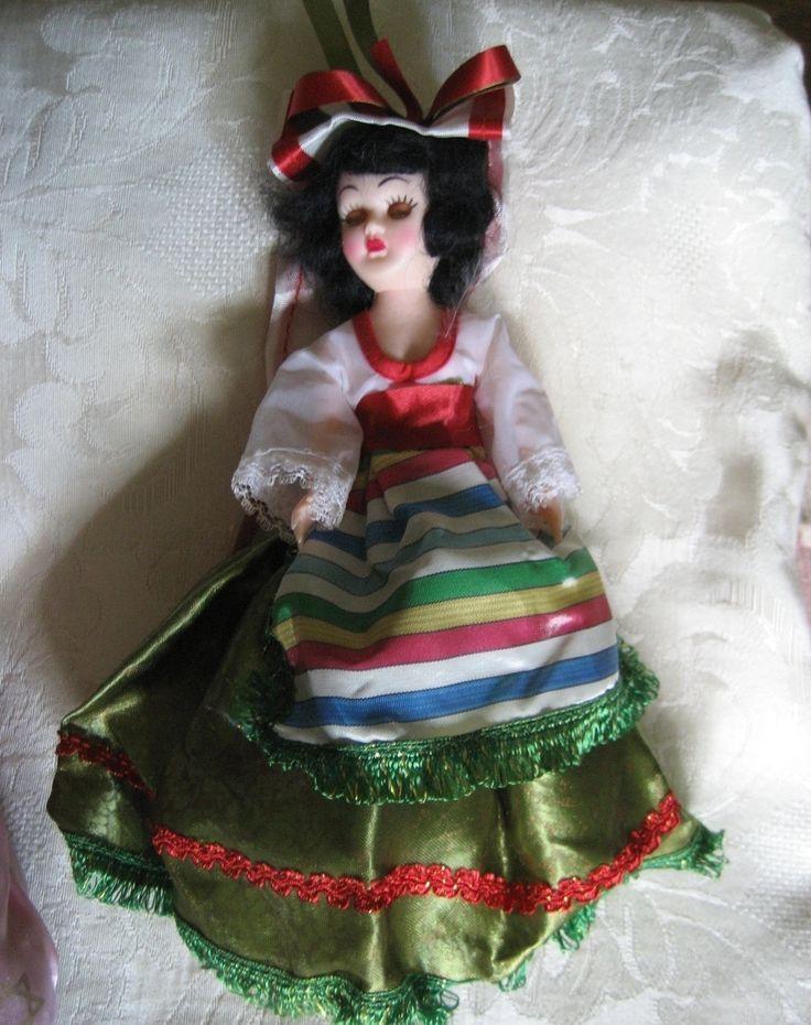 International Dolls | International Doll 7 inch 1950s Costume Collectible Vintage