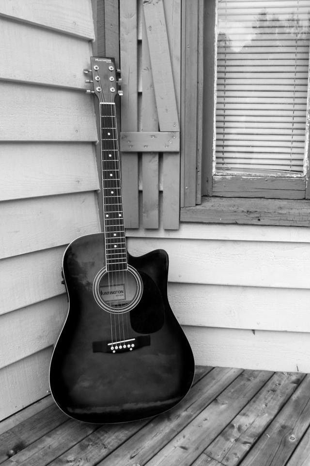 Vintage Guitar Ive Always Wanted To Play Acoustic PhotographyPhotography