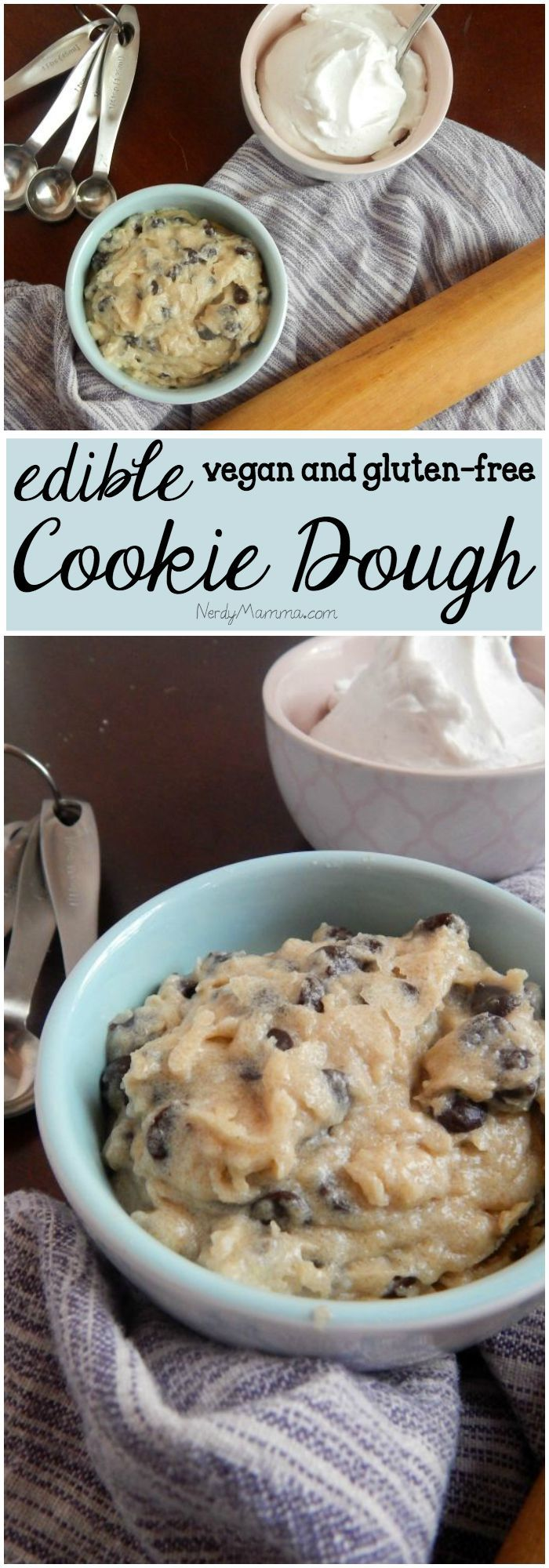 Egg-Free Dairy-Free Edible Chocolate Chip Cookie Dough | Recipe ...