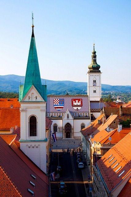 Crkva Sv Marka Zagreb Croatia Zagreb Croatia Croatia Dubrovnik Croatia