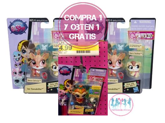 Littlest Pet Shop Toys a solo $1.75 en Target