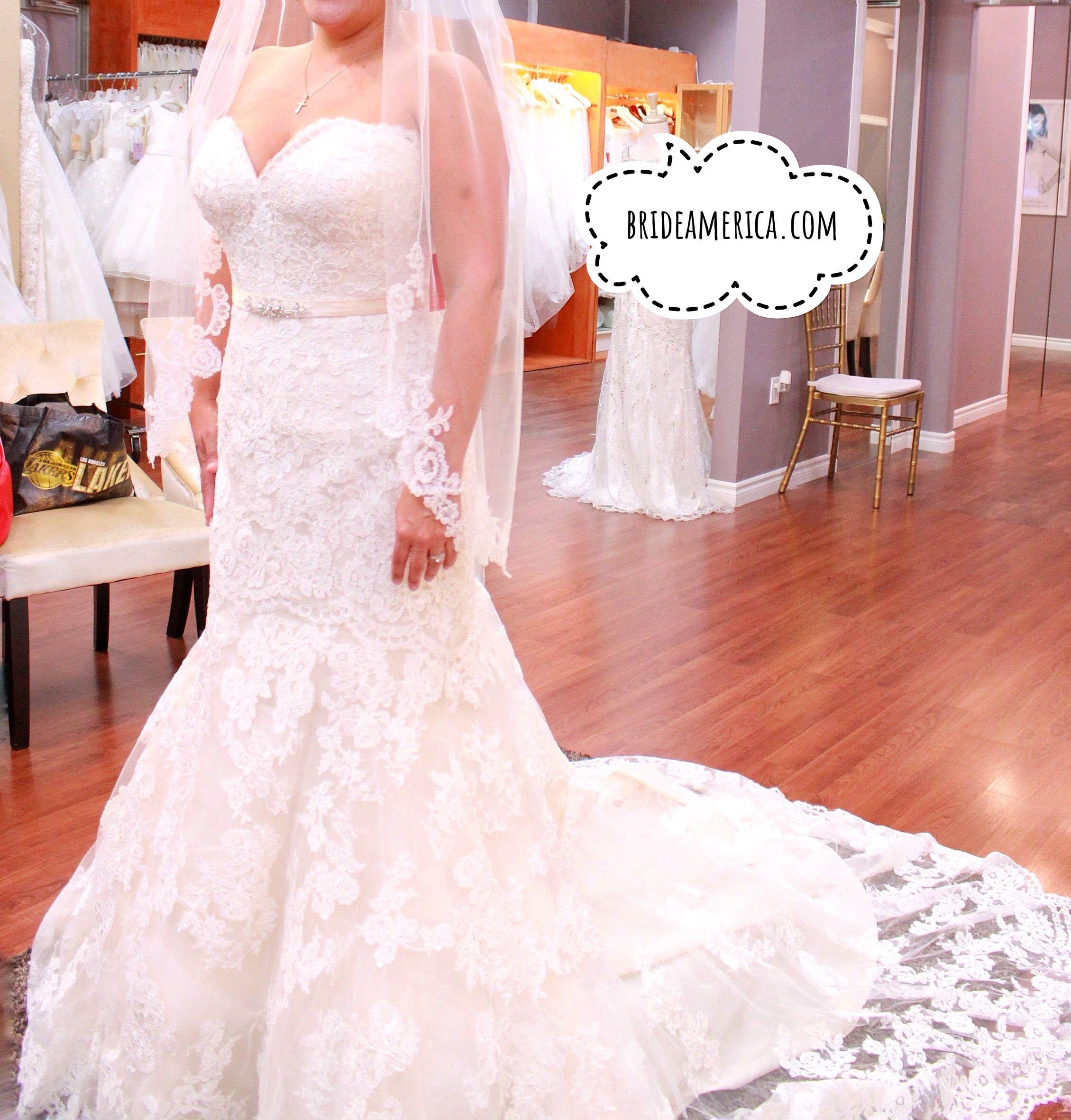 Wedding Dress at Bridal and Veil in San Diego, California. Beautiful ...