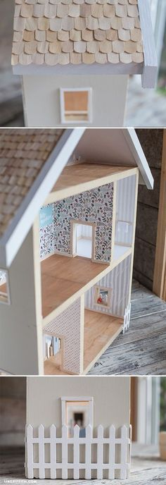 give a home make your own dollhouse pinterest dolls. Black Bedroom Furniture Sets. Home Design Ideas