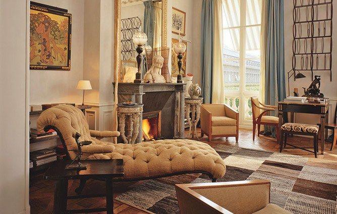Chic Paris Apartments Photos | Architectural Digest