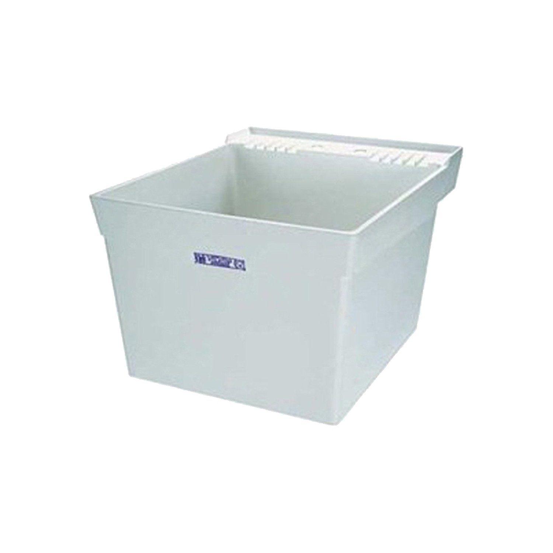 Mustee 17w Utilatub Laundry Tub Wall Mount 23 5 Inch X 23 Inch White Utility Sinks Amazon Com Utility Sink Laundry Tubs Basin White