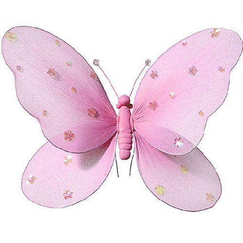 Fabulous Schmetterling f r M dchen Kinderzimmer Dekoration zum Aufh ngen Schmetterling Wanddeko f r Geburtstag Babyparty