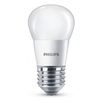 Philips LED P45 Leuchtmittel E27, 470lm, 5,5W, matt, ww